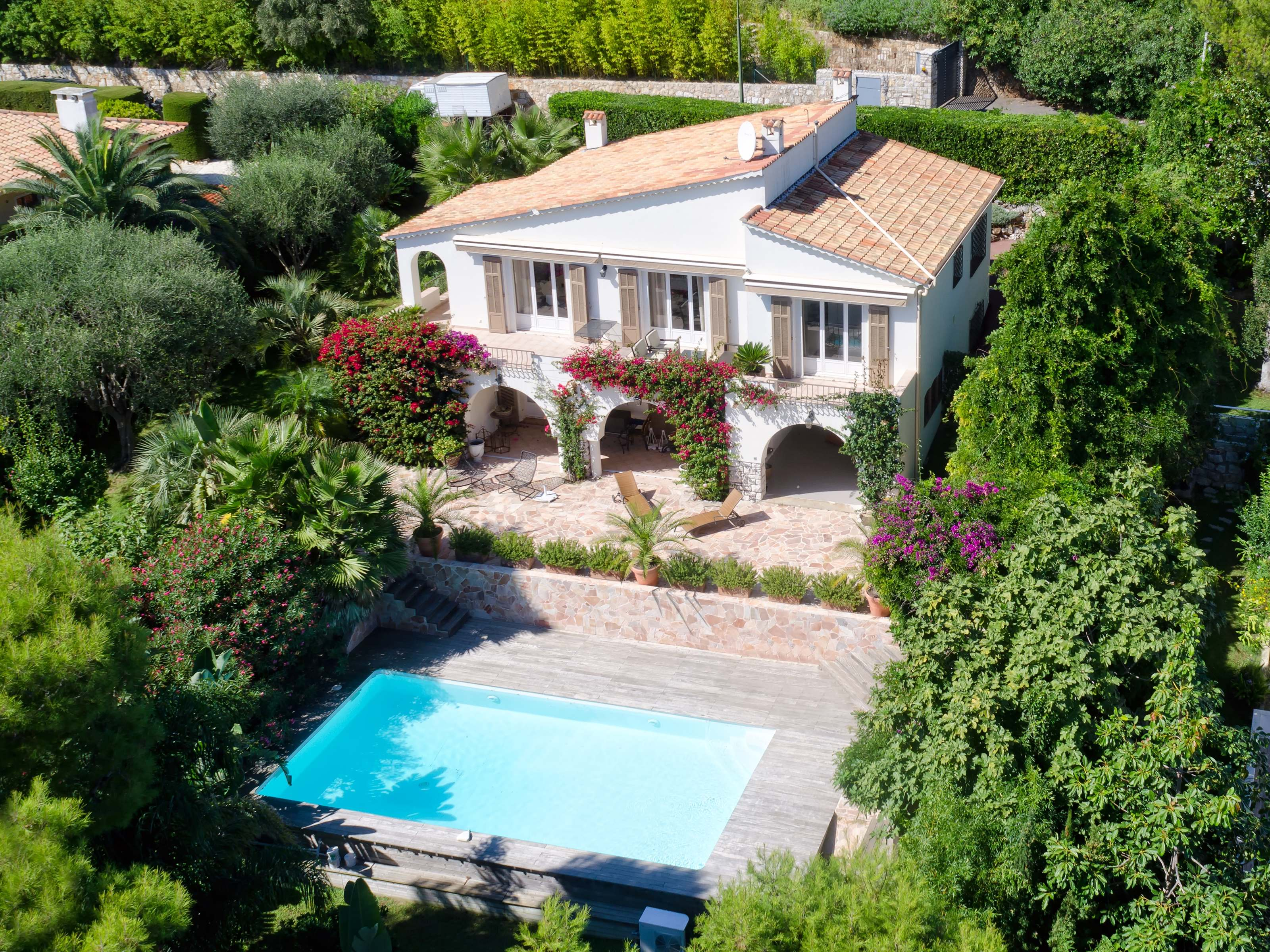Single Family Home for Sale at Pretty villa on the Cap Ferrat - Sea view Saint Jean Cap Ferrat, Provence-Alpes-Cote D'Azur 06230 France