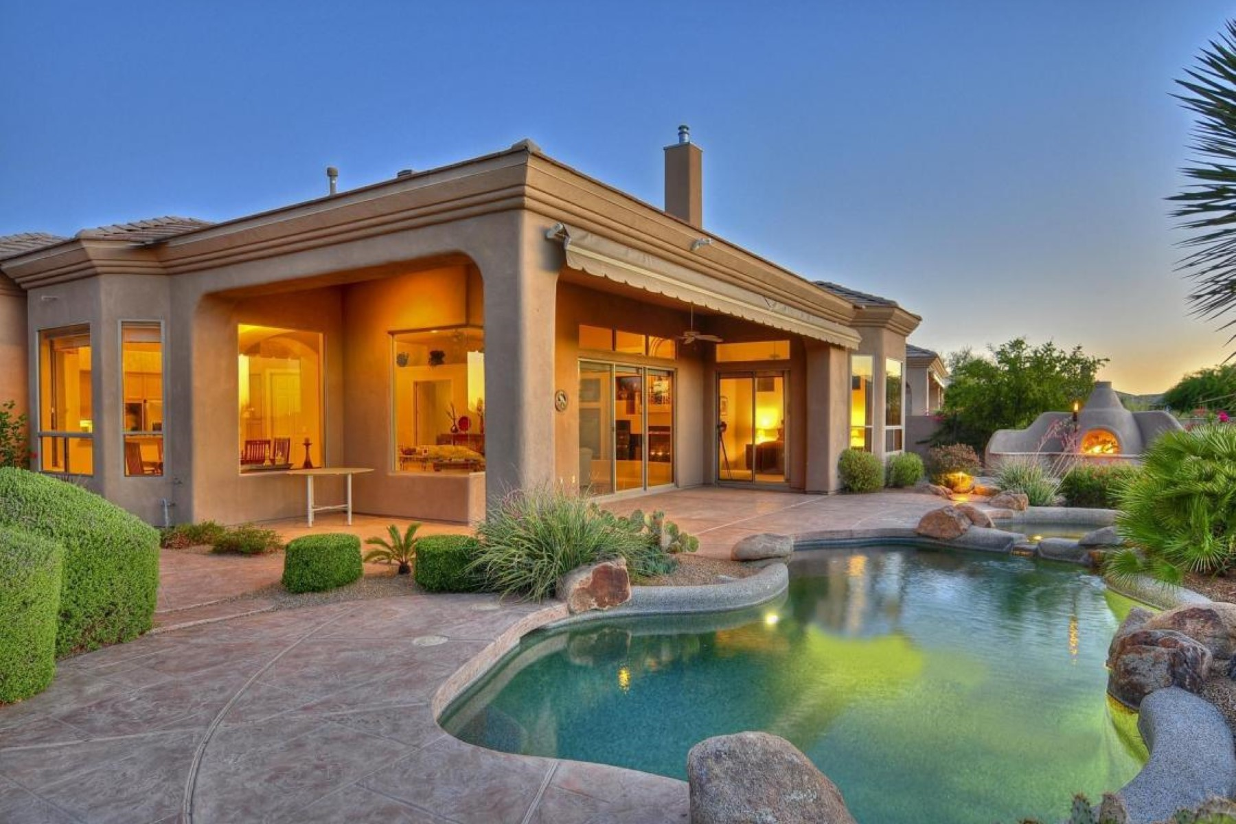 Property For Sale at Residing on the signature 7th fairway of the Legend Trail golf course