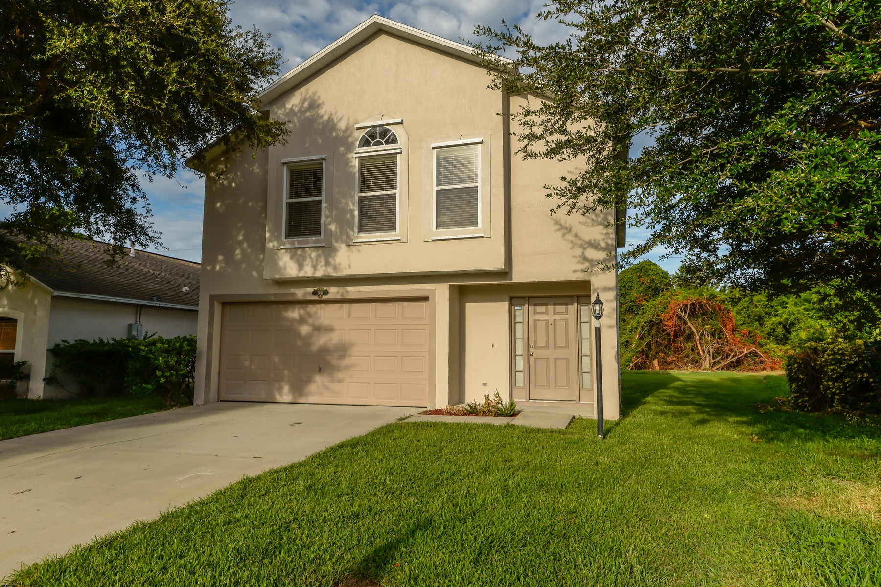 Single Family Home for Sale at Courtyard at Sandy Pines 2181 NE Redwood Circle Palm Bay, Florida, 32905 United States