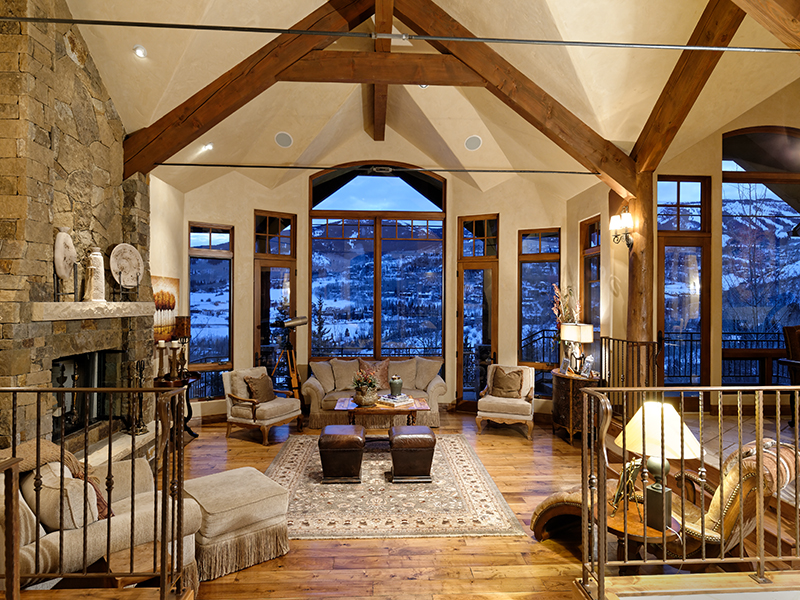 Maison unifamiliale pour l Vente à Custom Quality Home 121 Oak Ridge Road Snowmass Village, Colorado 81615 États-Unis