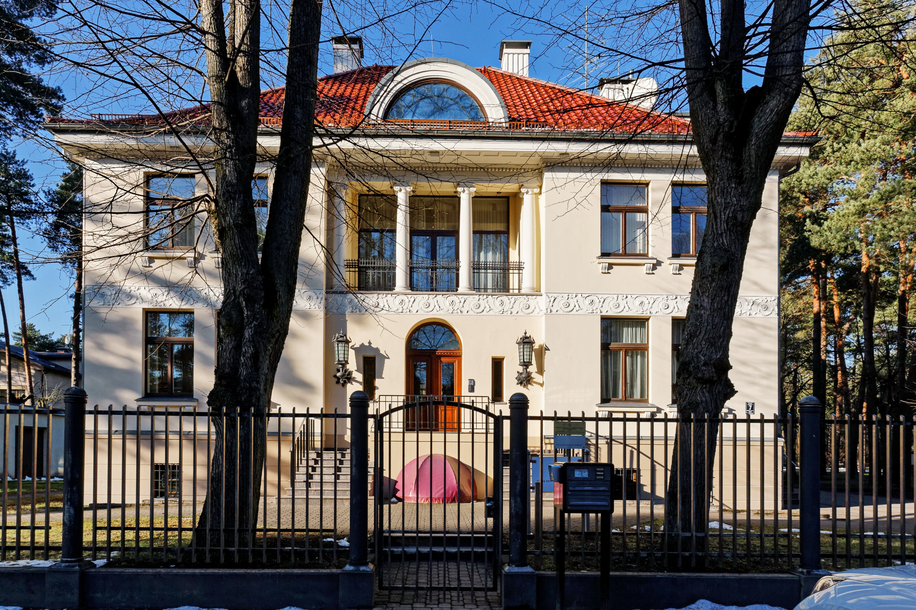 sales property at Sophisticated property in the green Mežaparks, Riga,