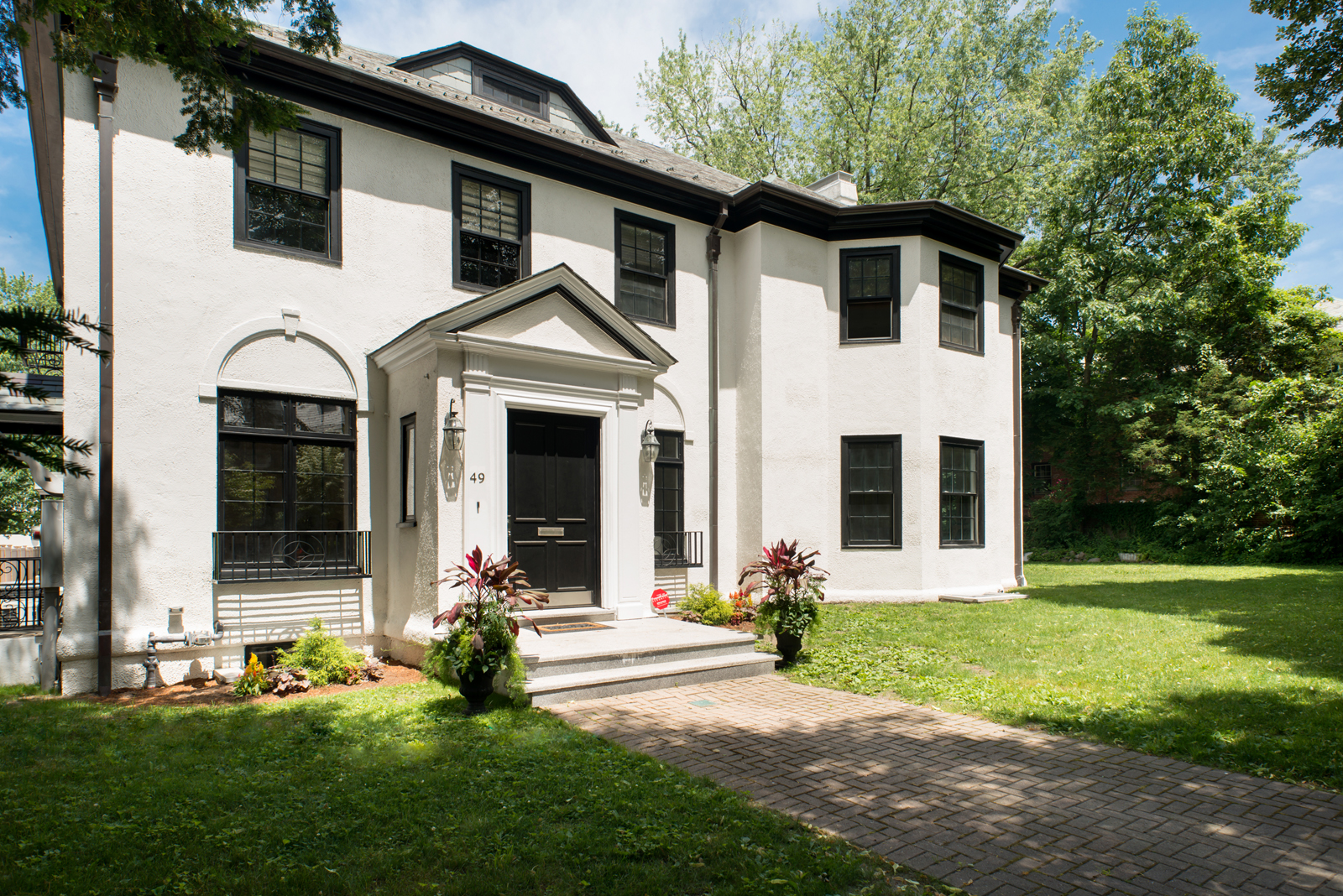 Single Family Home for Sale at Striking Well Located Home 49 Worthington Road Brookline, 02446 United States