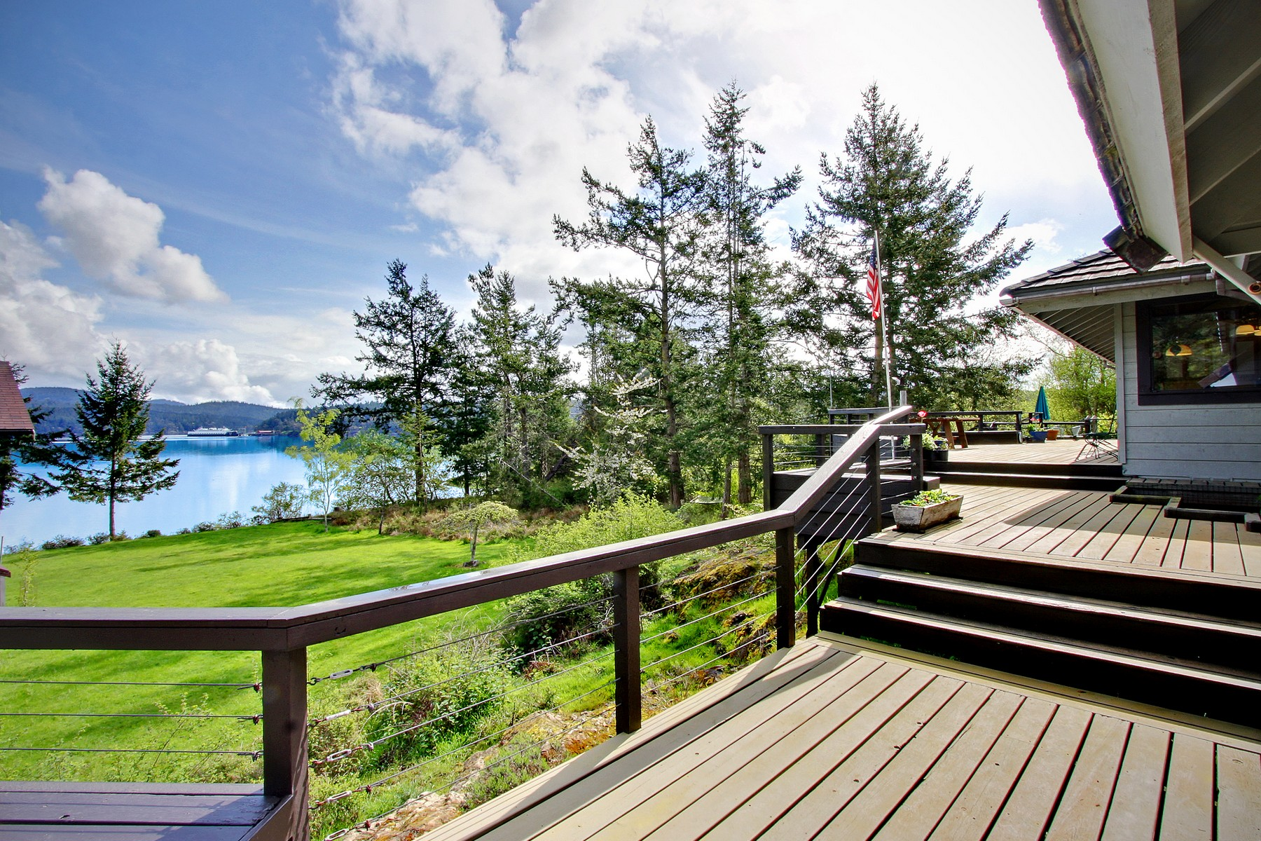 Single Family Home for Sale at Beautiful Waterfront Compound on Shaw Island 378 Smugglers Cove Road Shaw Island, Washington 98286 United States