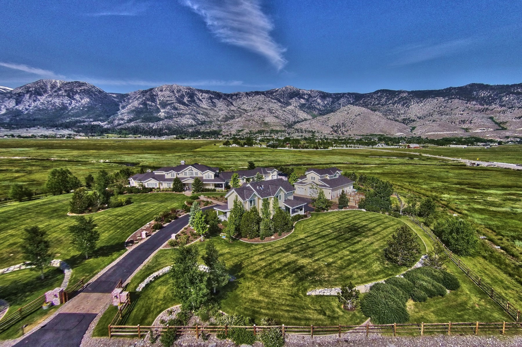 Single Family Home for Sale at 1286 Mottsville Meadows Gardnerville, Nevada 89460 United States