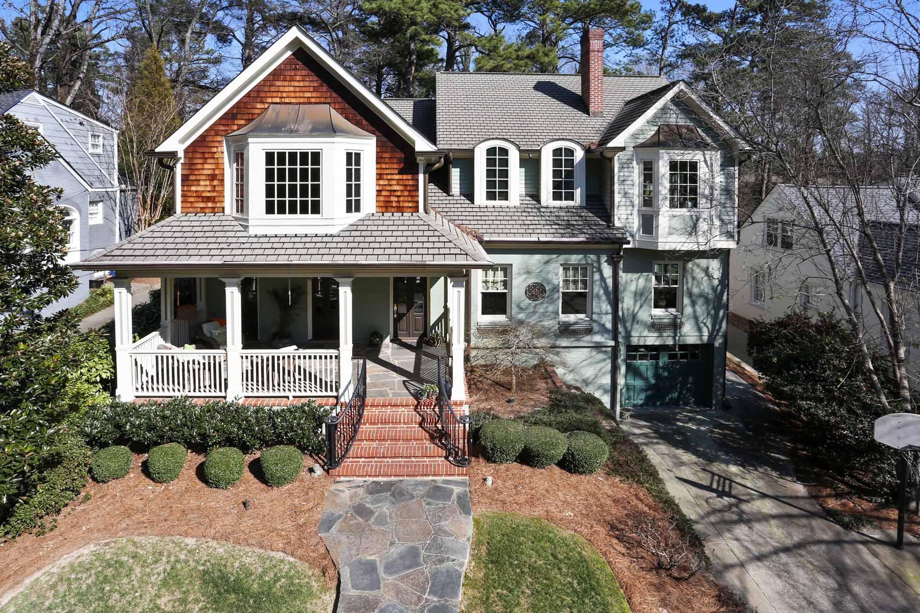 단독 가정 주택 용 매매 에 Gorgeous Renovation in Peachtree Park 3091 Dale Drive Peachtree Park, Atlanta, 조지아, 30305 미국