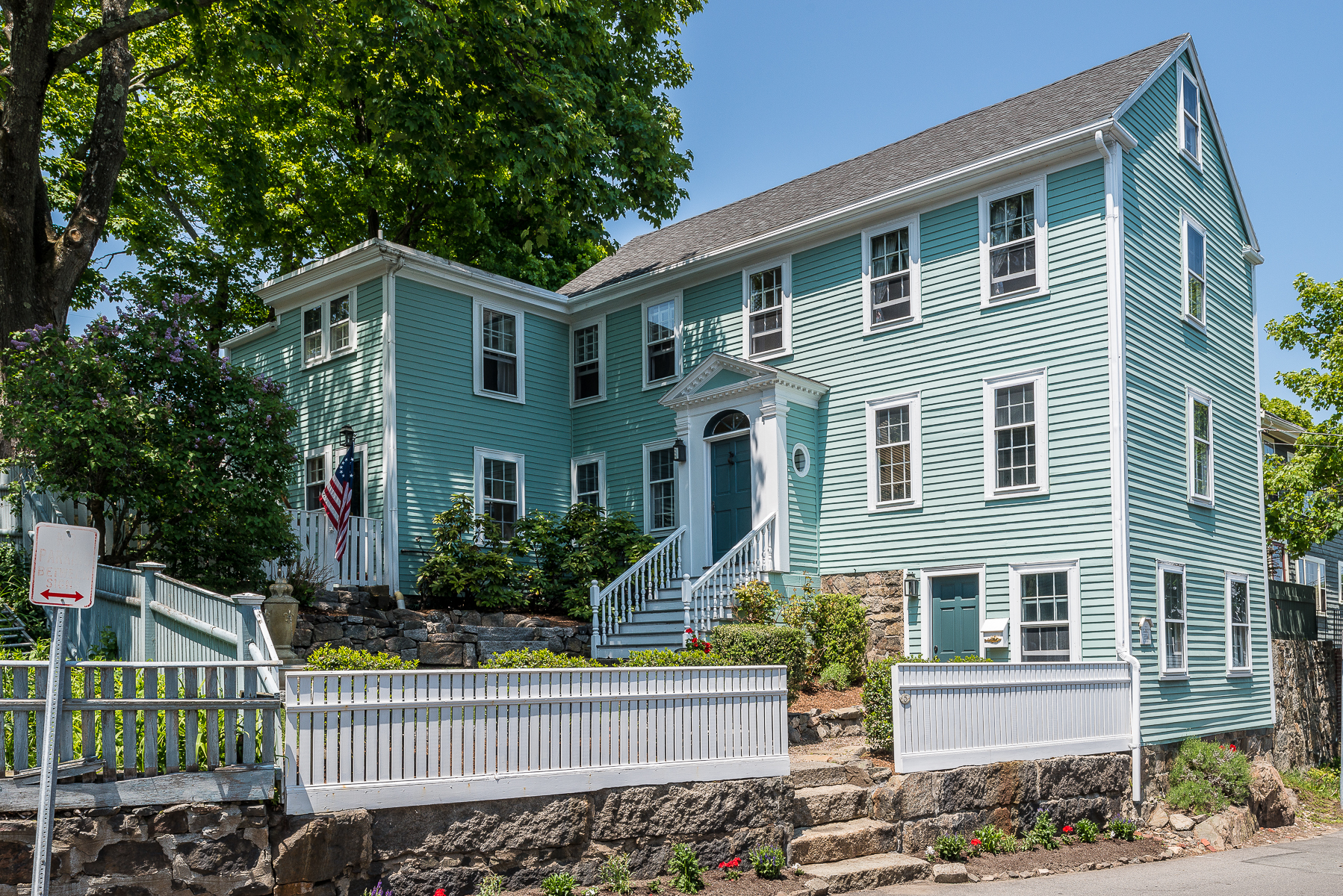 Single Family Home for Sale at Renovated Antique in the Heart of Marblehead 5 Washington Steet Marblehead, Massachusetts 01945 United States