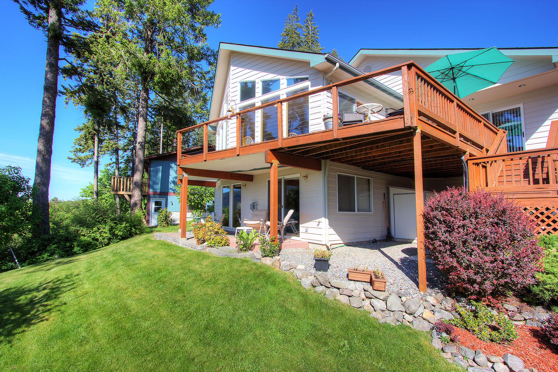 Casa Unifamiliar por un Venta en Leisure Pointe 34277 N PEND OREILLE PINES DR Bayview, Idaho 83803 Estados Unidos