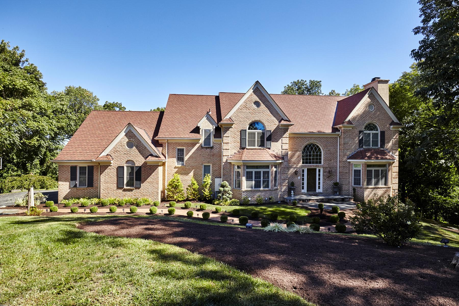 Частный односемейный дом для того Продажа на Gladwyne Estate Home 1350 Avignon Drive Gladwyne, Пенсильвания, 19035 Соединенные Штаты