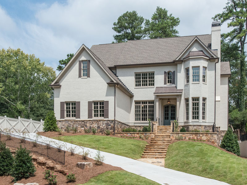 Maison unifamiliale pour l Vente à New Construction In Chastain Park 285 Lafayette Way Chastain Park, Atlanta, Georgia 30327 États-Unis