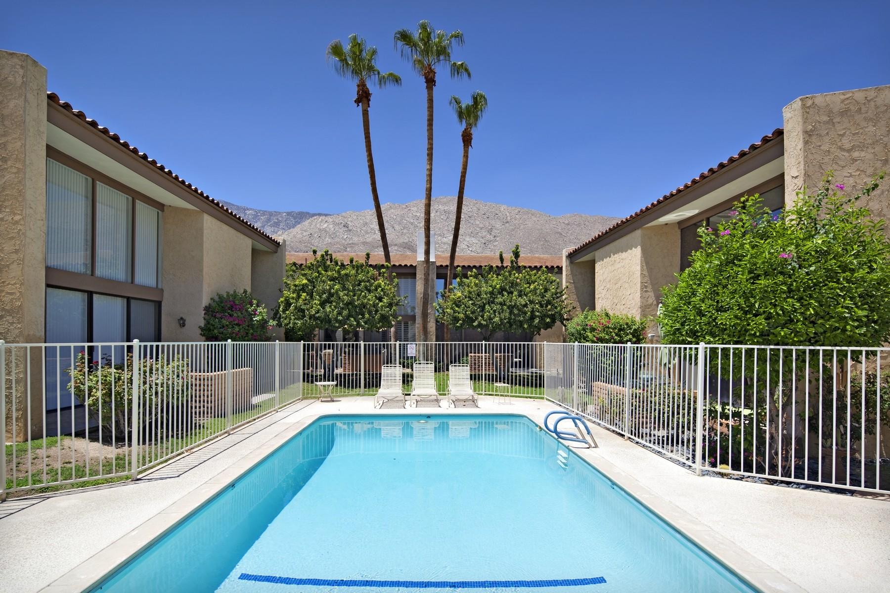Condominium for Sale at 231 East La Verne Way #E Palm Springs, California 92264 United States