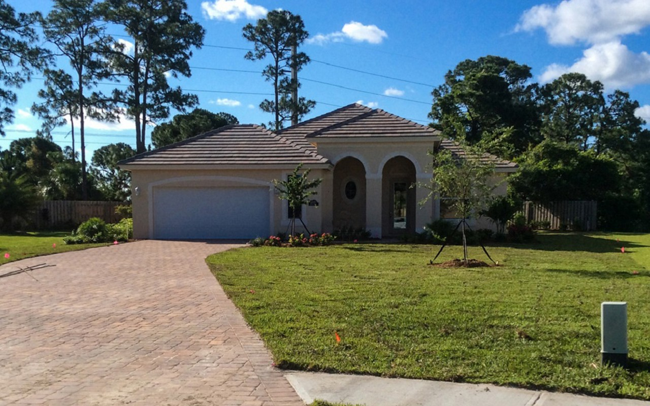 Single Family Home for Sale at Glendale Model Home 5835 Venetto Way Vero Beach, Florida, 32967 United States