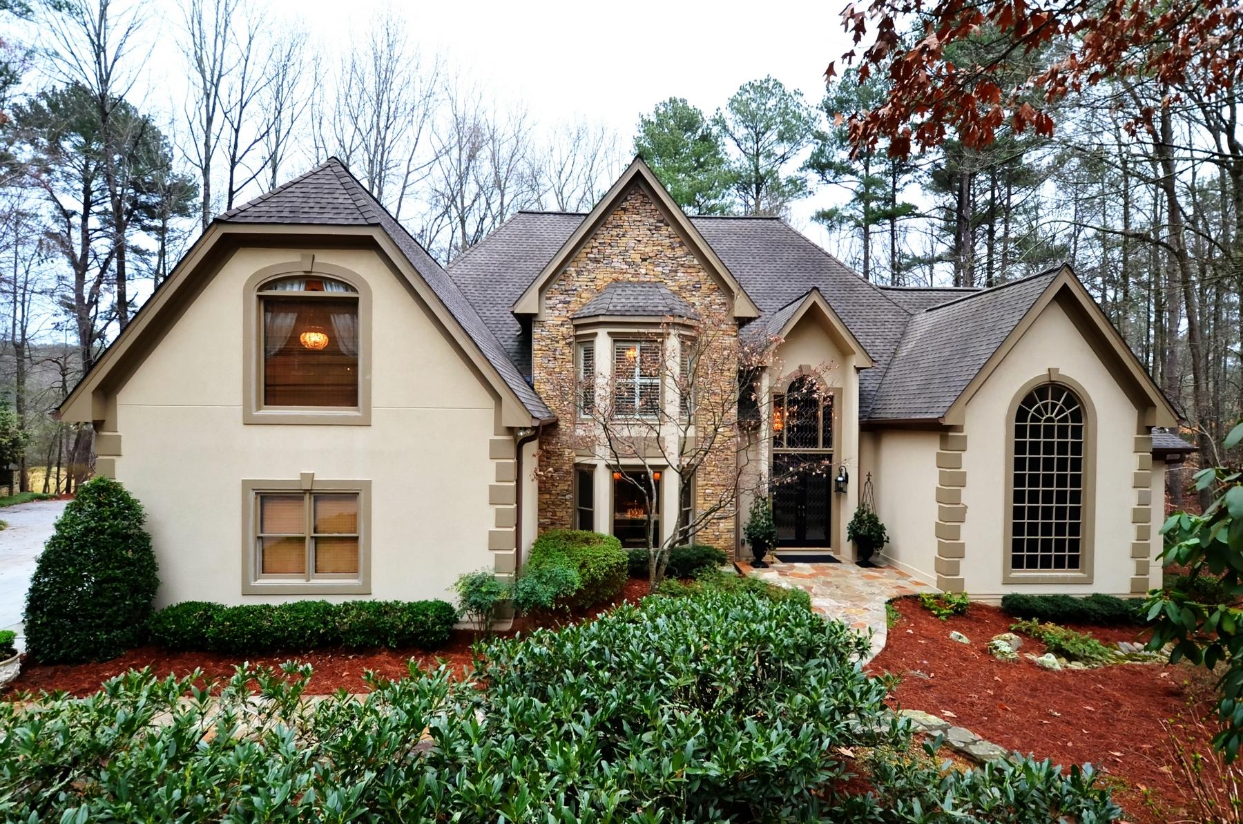独户住宅 为 销售 在 Spectacular Golf Course Lot 4435 Pemberton Cove Johns Creek, 乔治亚州, 30022 美国
