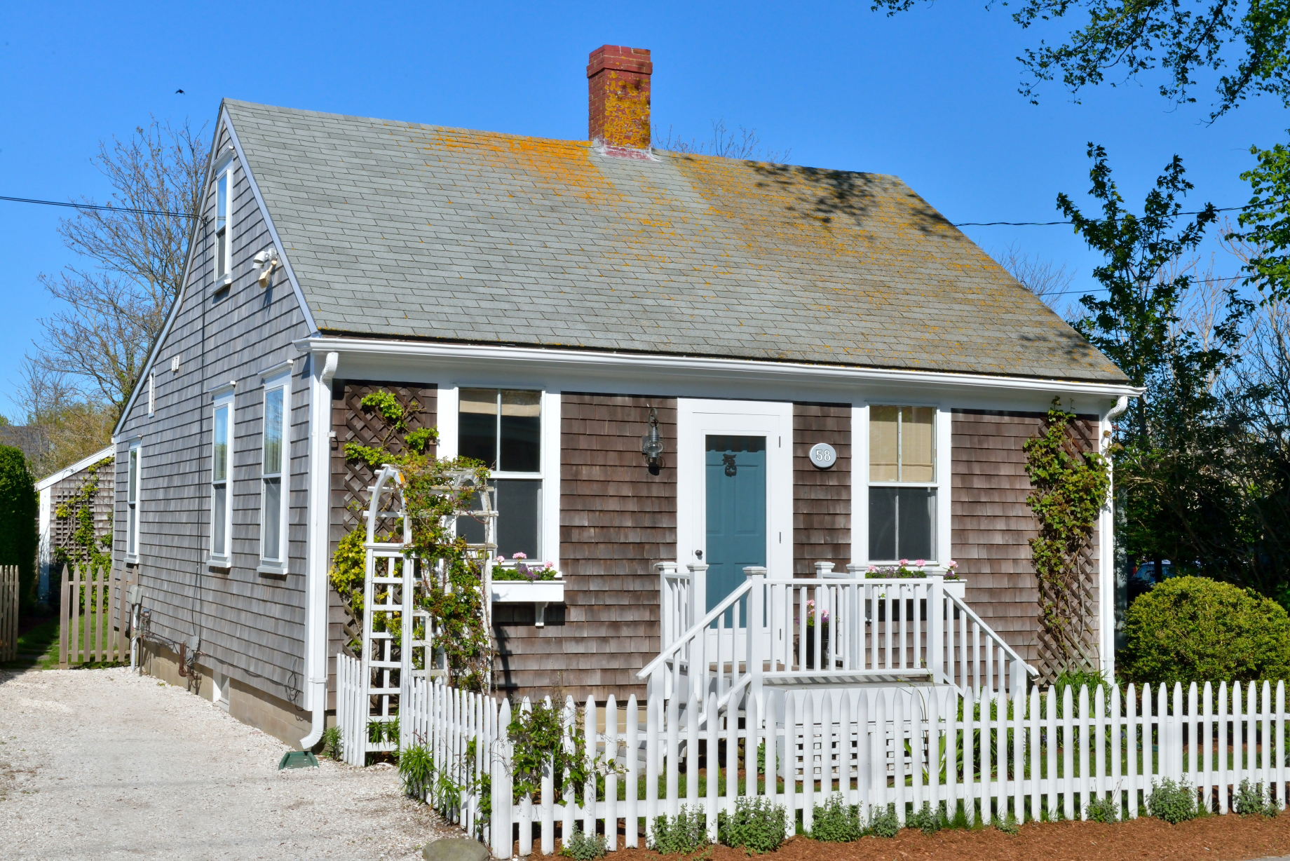 Single Family Home for Sale at Charming Property - A Must See 58 Pleasant Street Nantucket, Massachusetts, 02554 United States