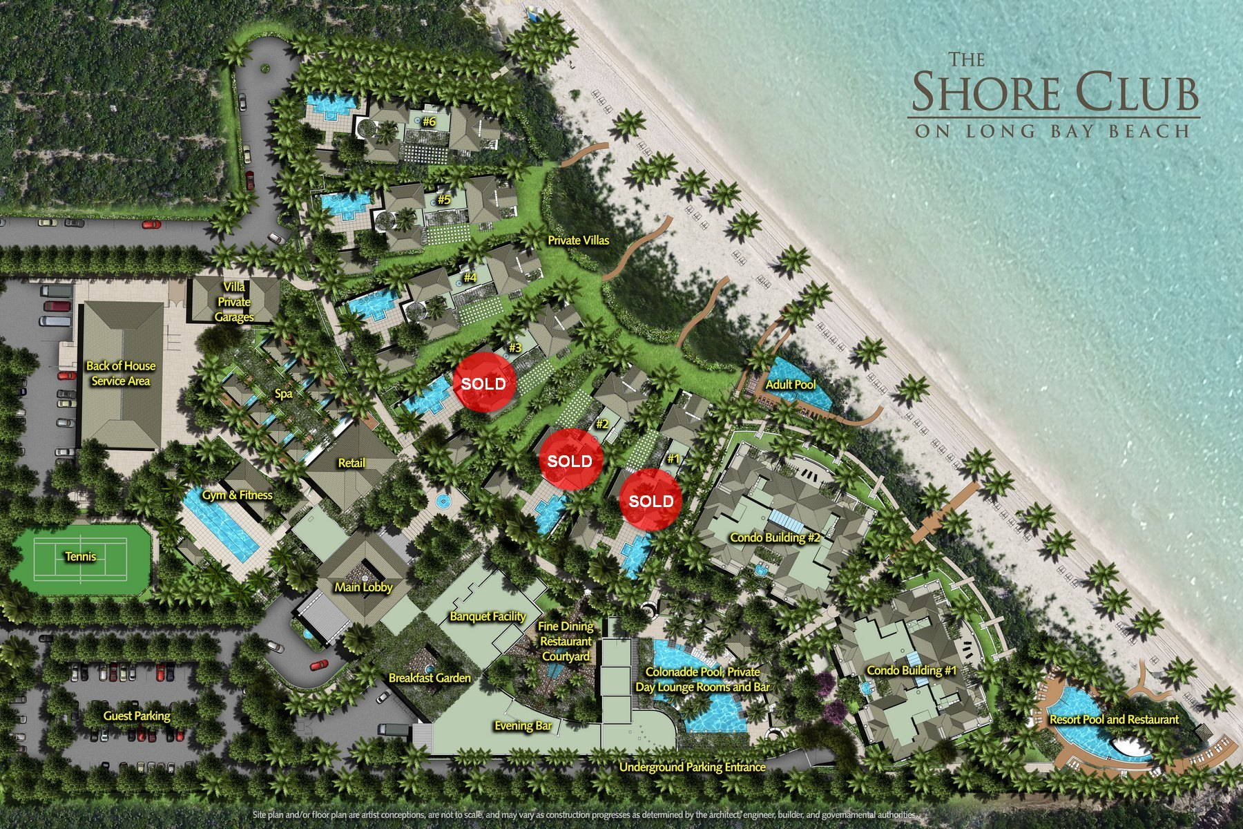 Additional photo for property listing at The Shore Club ~ Villa 4 The Shore Club, Long Bay, Провиденсьялес Теркс И Кайкос