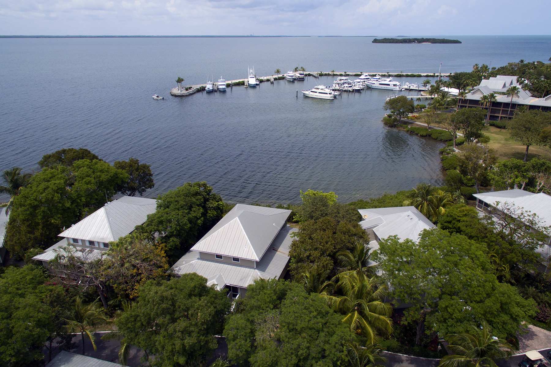 Single Family Home for Sale at Bay Front Cottage - Key Largo Anglers Club 26 Island Drive Key Largo, Florida, 33037 United States