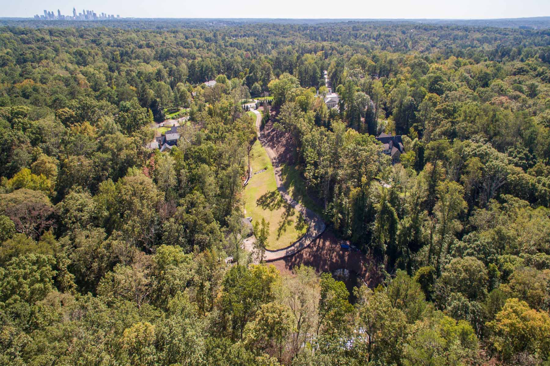 Đất đai vì Bán tại Premier 6.75 Acre Estate Lot, Developed And Ready For A Magnificent New Home! 4725 Northside Drive North Buckhead, Atlanta, Georgia, 30327 Hoa Kỳ