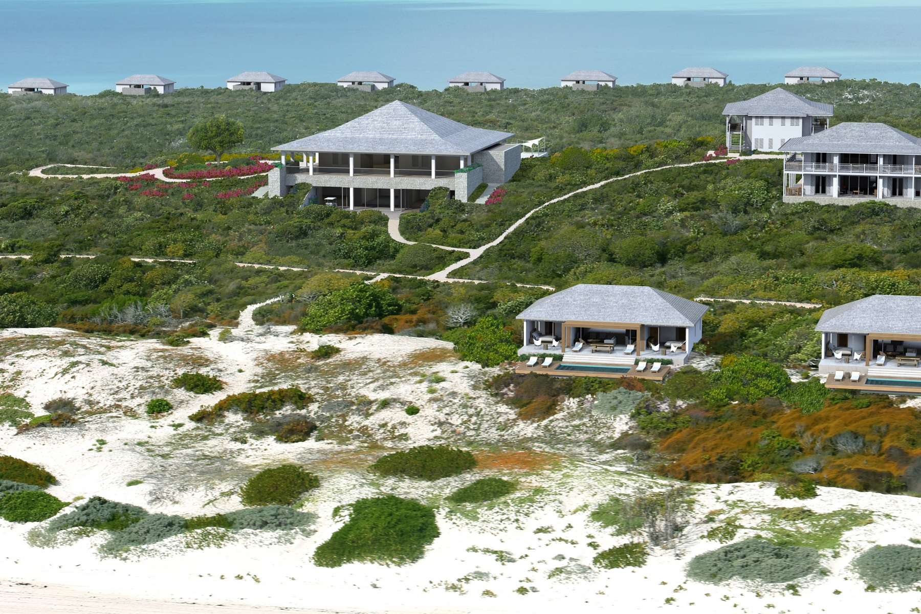Additional photo for property listing at Beach Villa - Lot 2 Beachfront Sailrock, South Caicos TC Islas Turcas Y Caicos