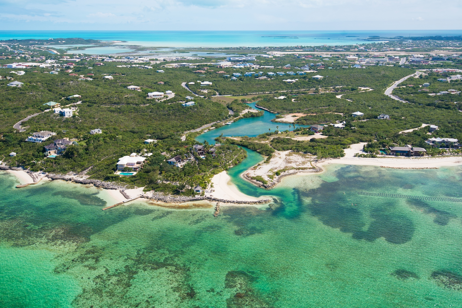 Land for Sale at Thompson Cove- Residential Land Canalfront Thompson Cove, Providenciales TCI BWI Turks And Caicos Islands