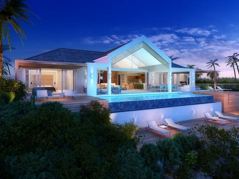 Vivienda unifamiliar por un Venta en Beach Enclave - Single Storey - LOT 8 Oceanview Blue Mountain, Providenciales TC Islas Turcas Y Caicos