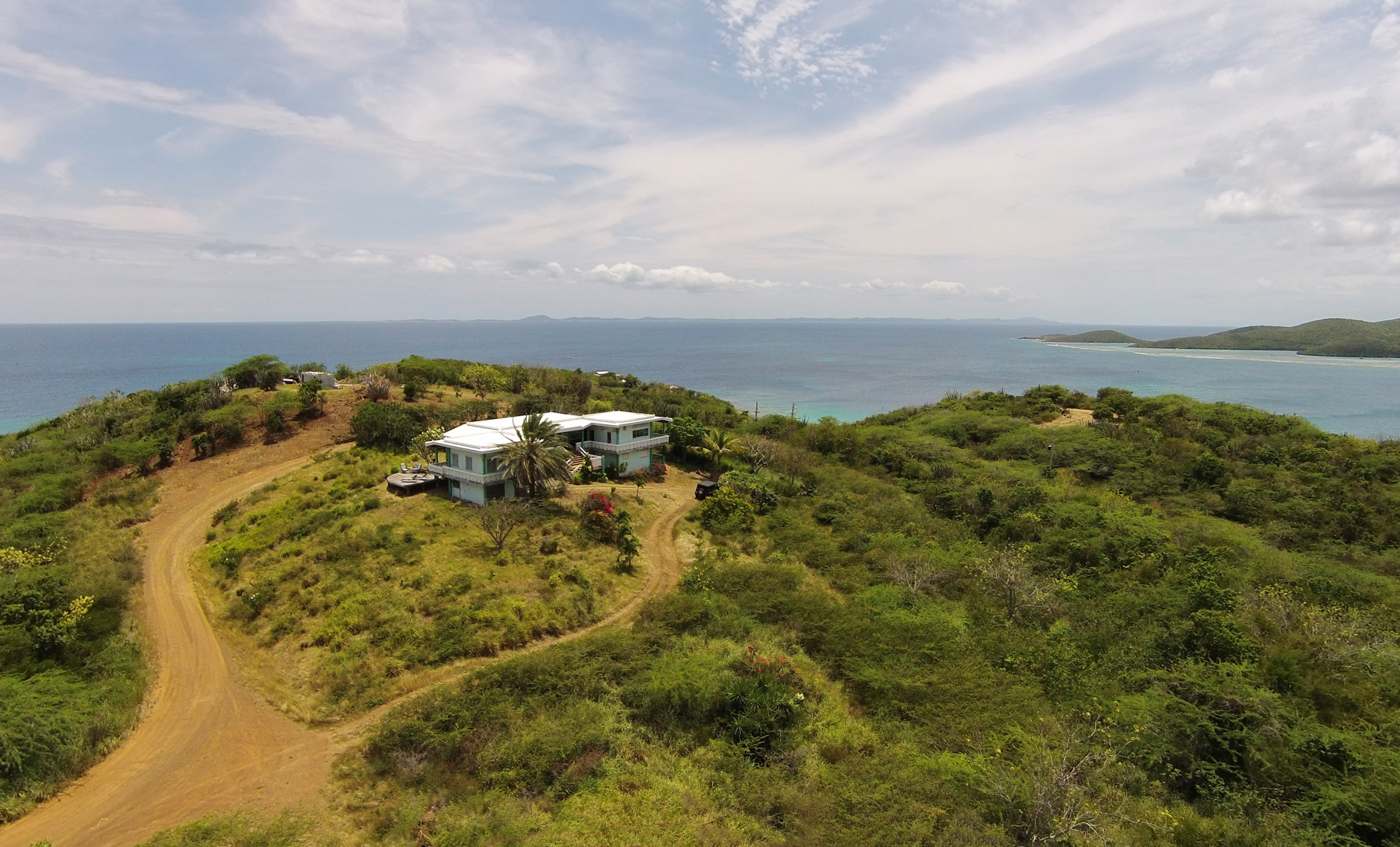 Single Family Home for Sale at Inspiring Oceanview Privacy on Culebra Island 6 Punta Del Viento Estates Culebra, Puerto Rico 00775 Puerto Rico