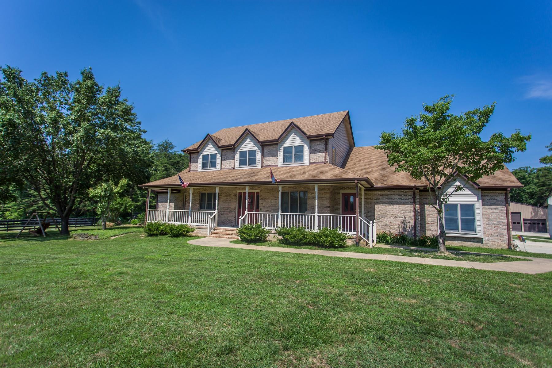 一戸建て のために 売買 アット 5418 Courthouse Rd Spotsylvania, バージニア, 22551 アメリカ合衆国