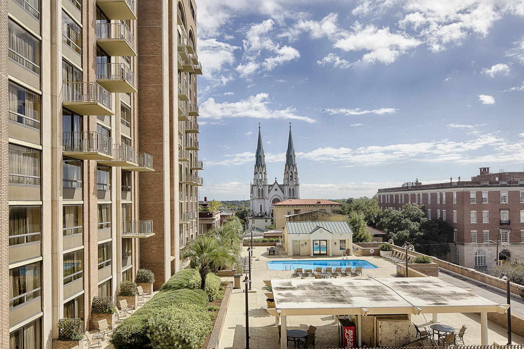 Condominium for Sale at Historic District 300 Bull Street Unit 404A Savannah, Georgia 31401 United States