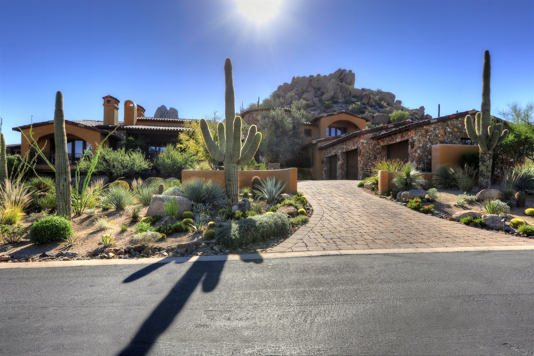 sales property at Perched high above the 16th tee of the world renowned Estancia Golf Course