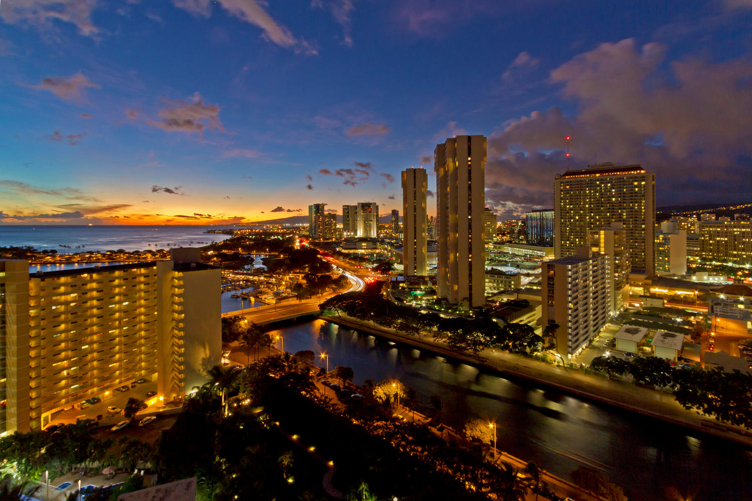 Condominium for Sale at Ultra Modern Luxury Home in the Sky The Watermark 1551 Ala Wai Boulevard #2105 Honolulu, Hawaii 96815 United States
