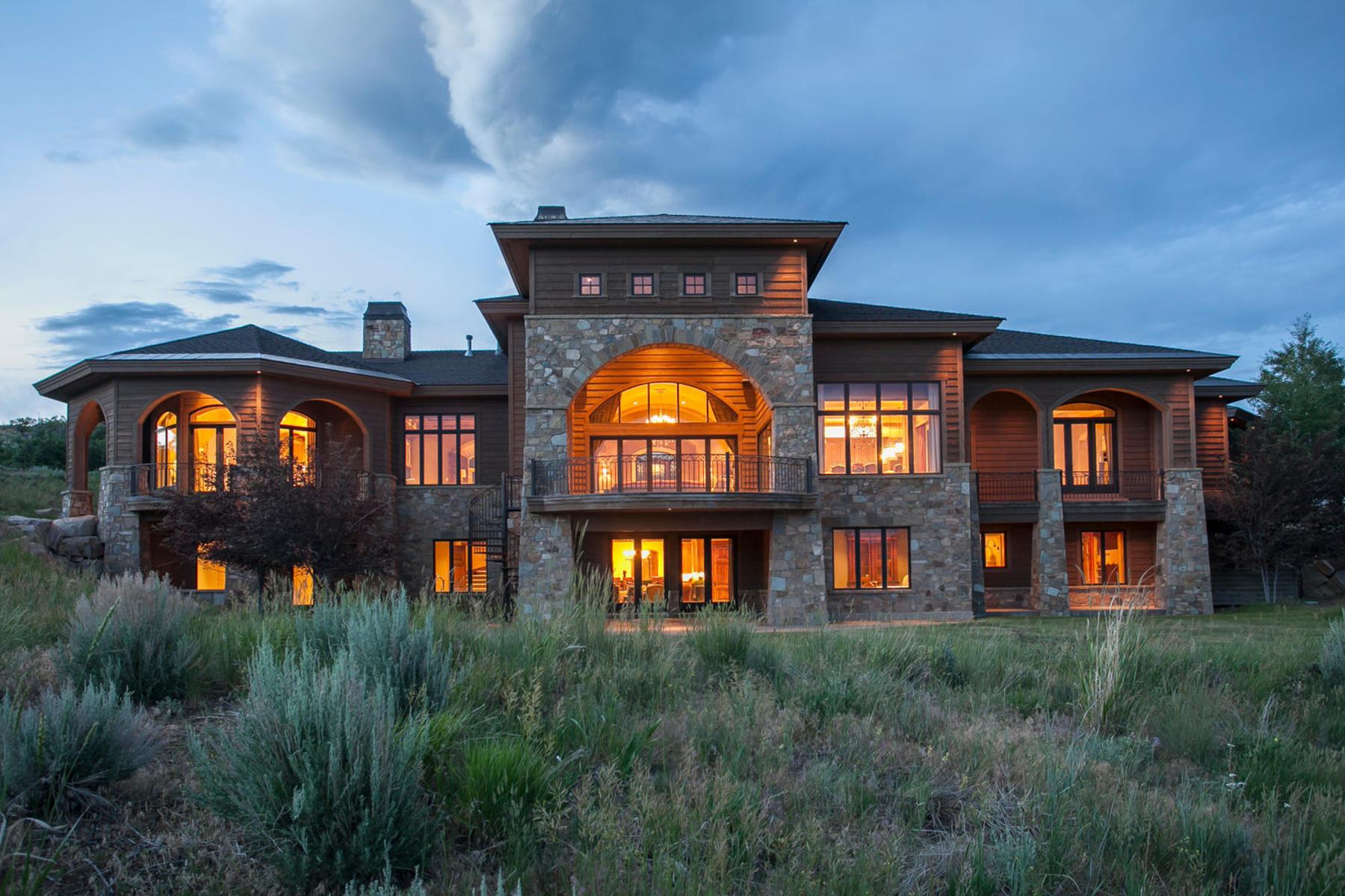 獨棟家庭住宅 為 出售 在 Aspen Crest Manor—the Epitome of Luxury 7501 N Promontory Ranch Rd Park City, 猶他州 84098 美國