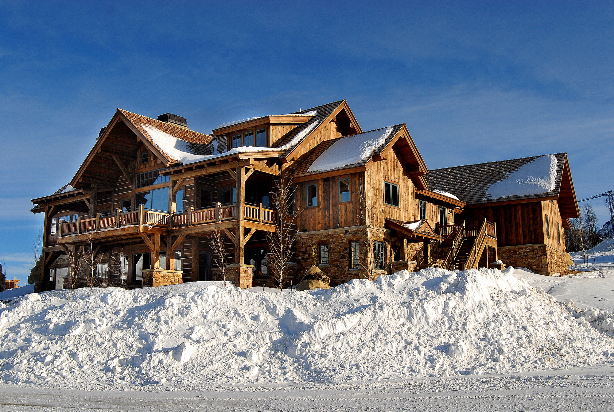 Property Of Ski-In/Ski-Out Mountain Home
