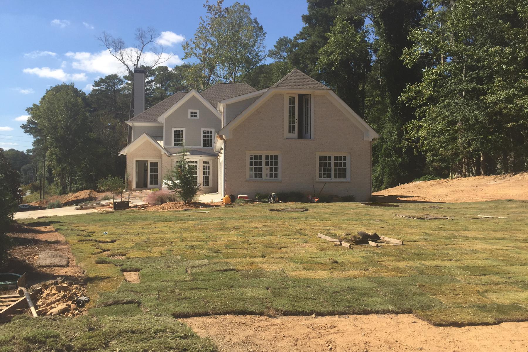 Maison unifamiliale pour l Vente à Amazing New Construction In East Cobb 3799 Lower Roswell Road Marietta, Georgia, 30068 États-Unis