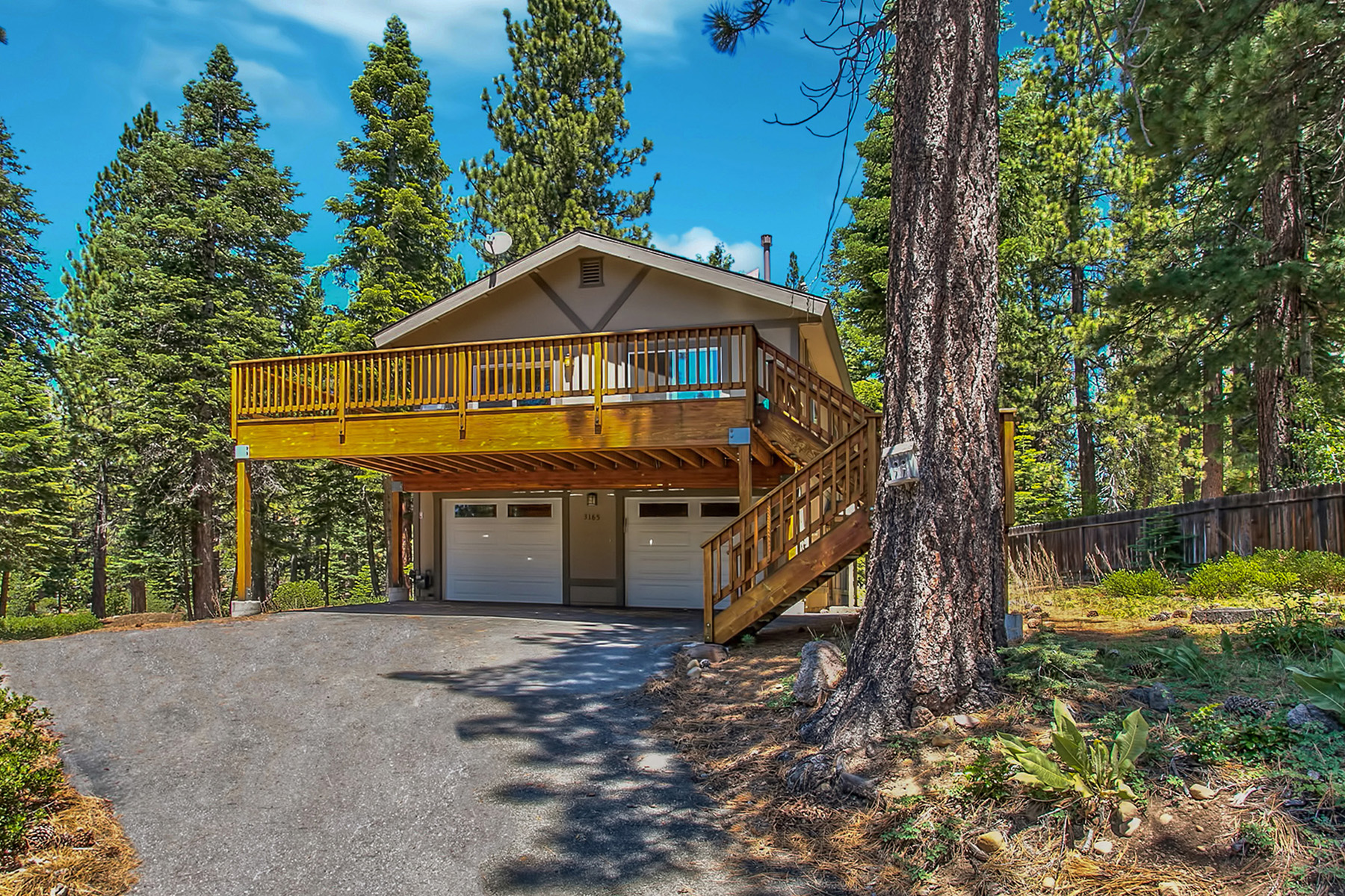 Single Family Home for Sale at 3165 Panorama Drive Tahoe City, California 96145 United States