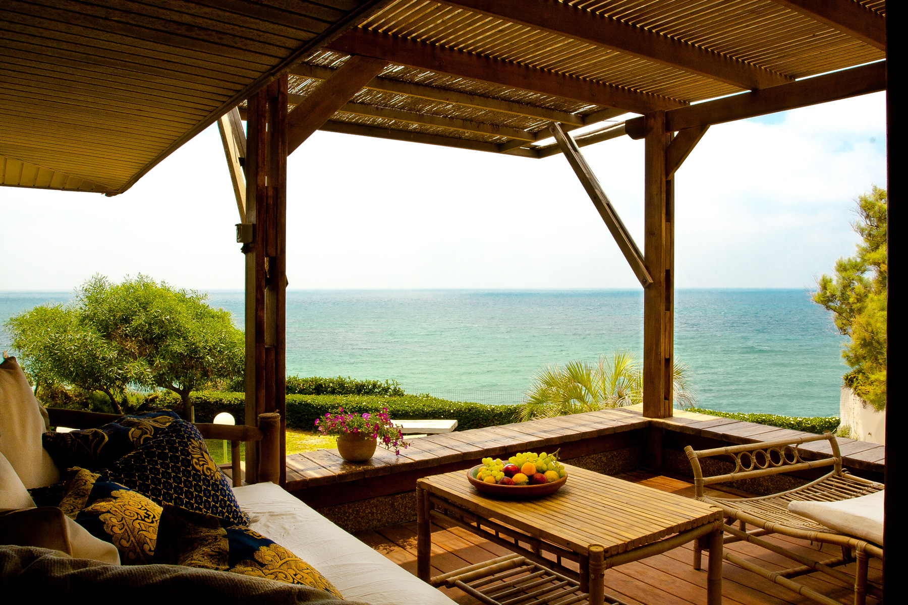 Single Family Home for Sale at Incomparable Beach Front House On a Cliff Other Cities In Israel, Israel