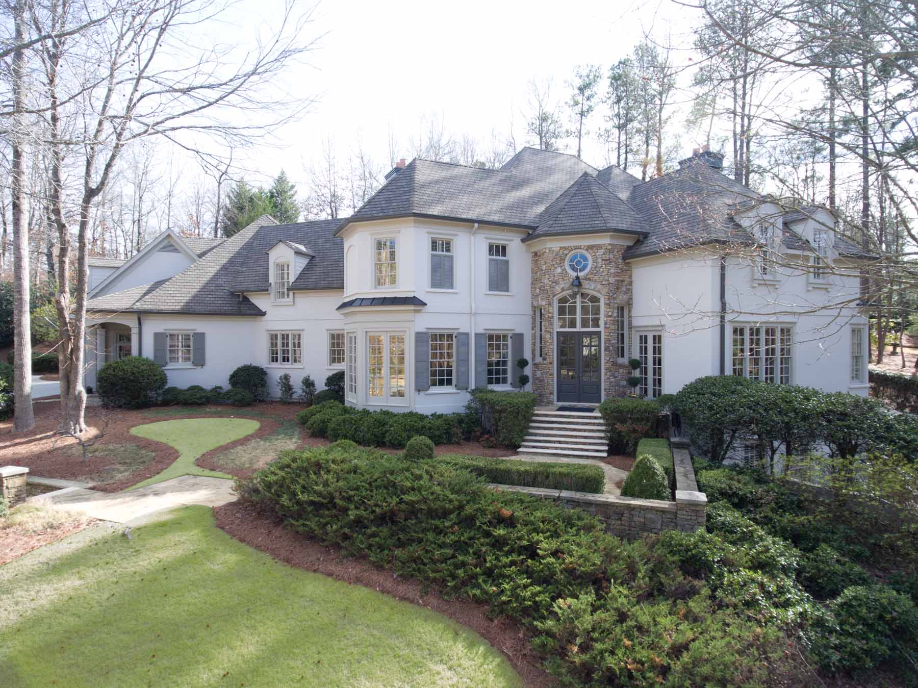 Single Family Home for Sale at Beautifully Renovated Country Club Of The South Decorator Home 405 Covington Cove Alpharetta, Georgia, 30022 United States