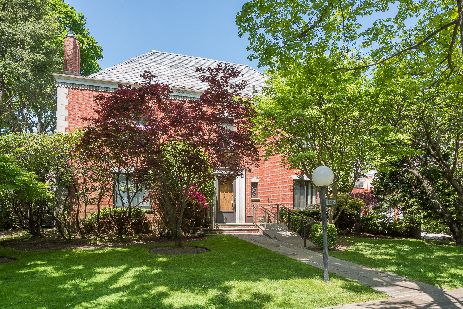 Single Family Home for Sale at Two Extraordinary Fieldston Houses 4485 Fieldston Road Fieldston, Bronx, New York, 10471 United States