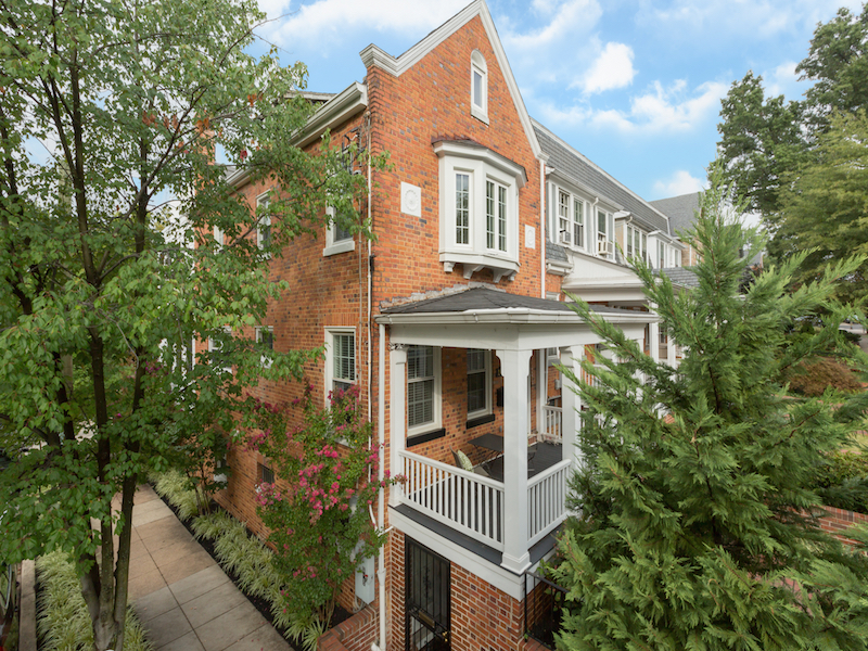 Townhouse for Sale at Glover Park 2444 Tunlaw Road Nw Washington, District Of Columbia 20007 United States