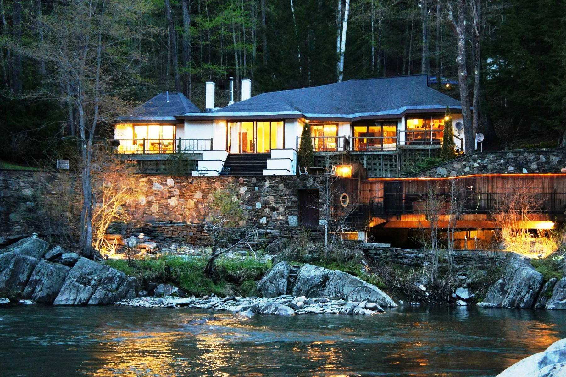 Maison unifamiliale pour l Vente à 94 Lovers Lane, Moretown 94 Lovers Ln Moretown, Vermont 05660 États-Unis