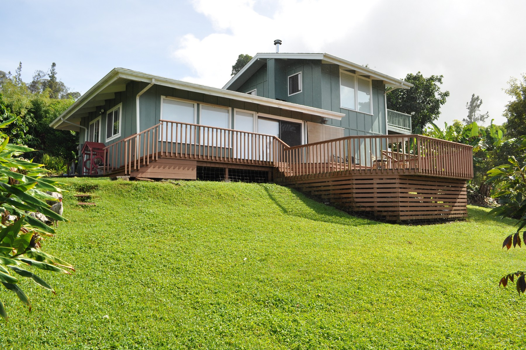 獨棟家庭住宅 為 出售 在 Privacy & Seclusion On 8 Permacultured Acres 1690 Piiholo Road Makawao, 夏威夷, 96768 美國