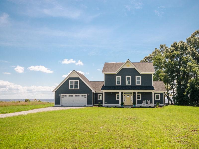 Maison unifamiliale pour l Vente à 141 Pelican Court 141Pelican Court Edenton, Carolina Du Nord, 27932 États-Unis