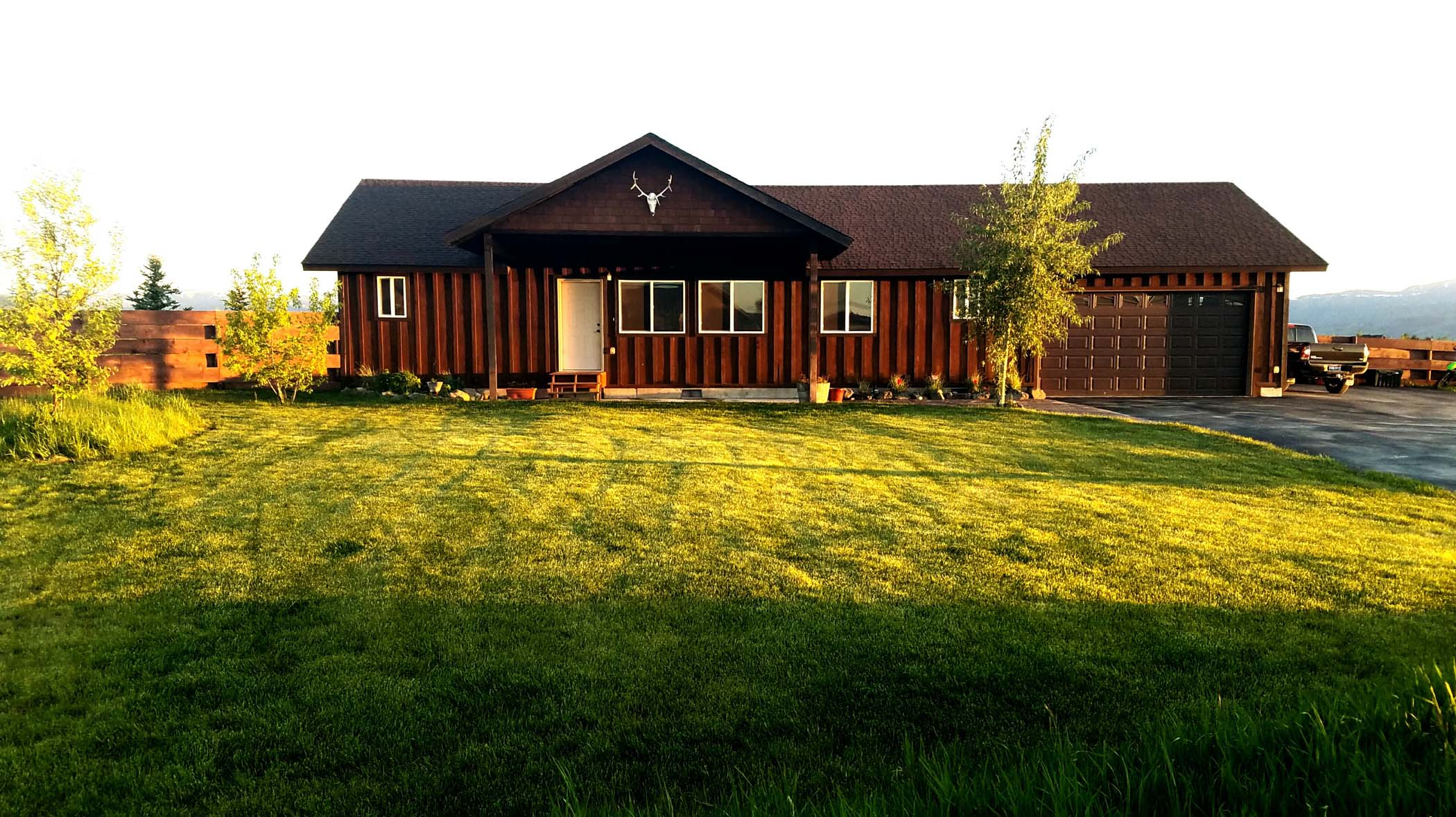 Single Family Home for Sale at Driggs Home - 1 Acre - No CCR's 759 Teague Avenue Driggs, Idaho, 83422 Jackson Hole, United States