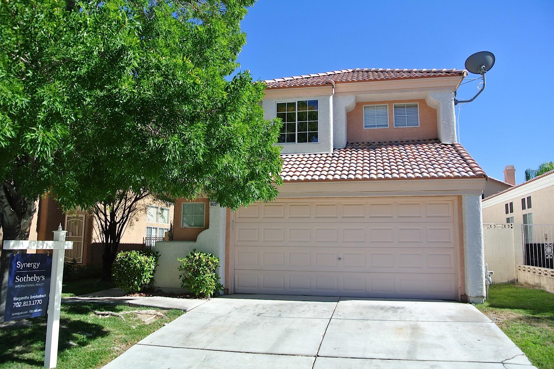 Tek Ailelik Ev için Satış at 8001 Hilliard Ave Las Vegas, Nevada 89128 Amerika Birleşik Devletleri