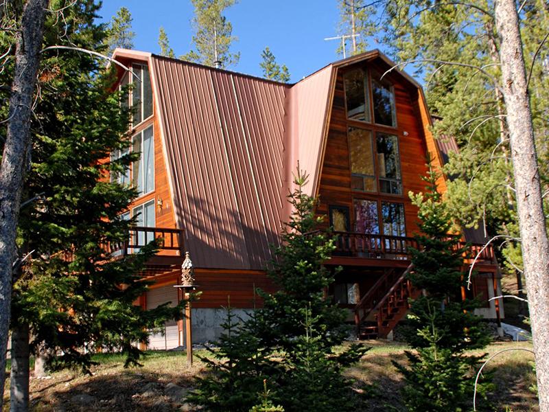 獨棟家庭住宅 為 出售 在 Privacy and views in Hoback Ranches 199 Rim Road Bondurant, 懷俄明州 82922 美國