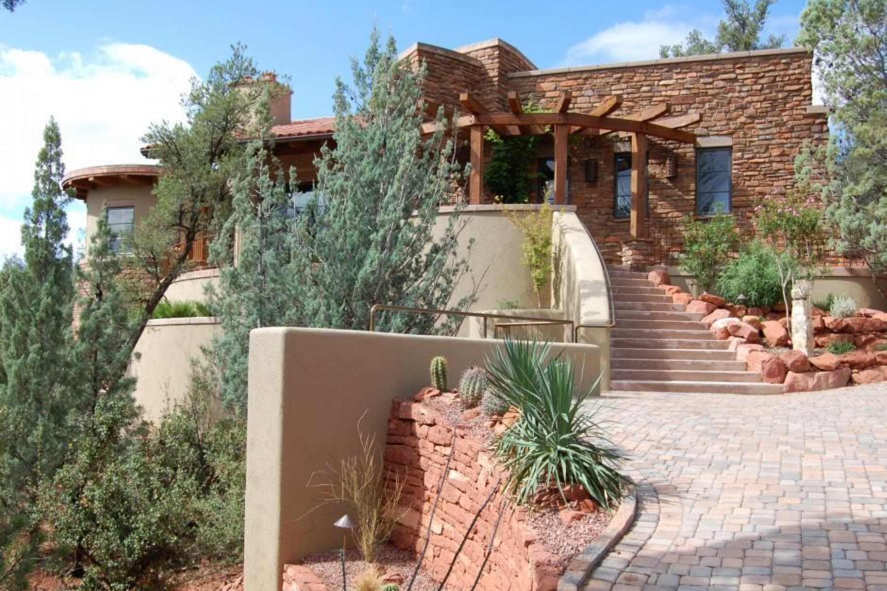Maison unifamiliale pour l Vente à Custom Southwest Masterpiece 400 Little Scout Rd Sedona, Arizona, 86336 États-Unis