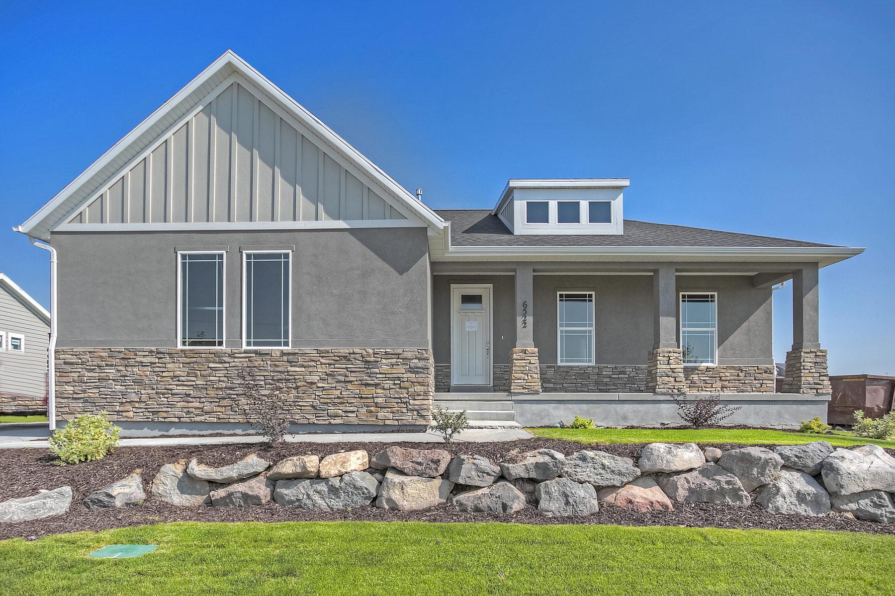 Maison unifamiliale pour l Vente à Maple Hills Elkhorn Plan 6522 West 7735 South Lot #1008 West Jordan, Utah 84081 États-Unis