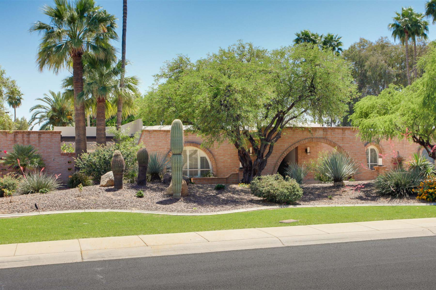 Single Family Home for Sale at Updated classic home is within the Arcadia umbrella of fine homes. 6245 E HILLCREST BLVD Scottsdale, Arizona 85251 United States