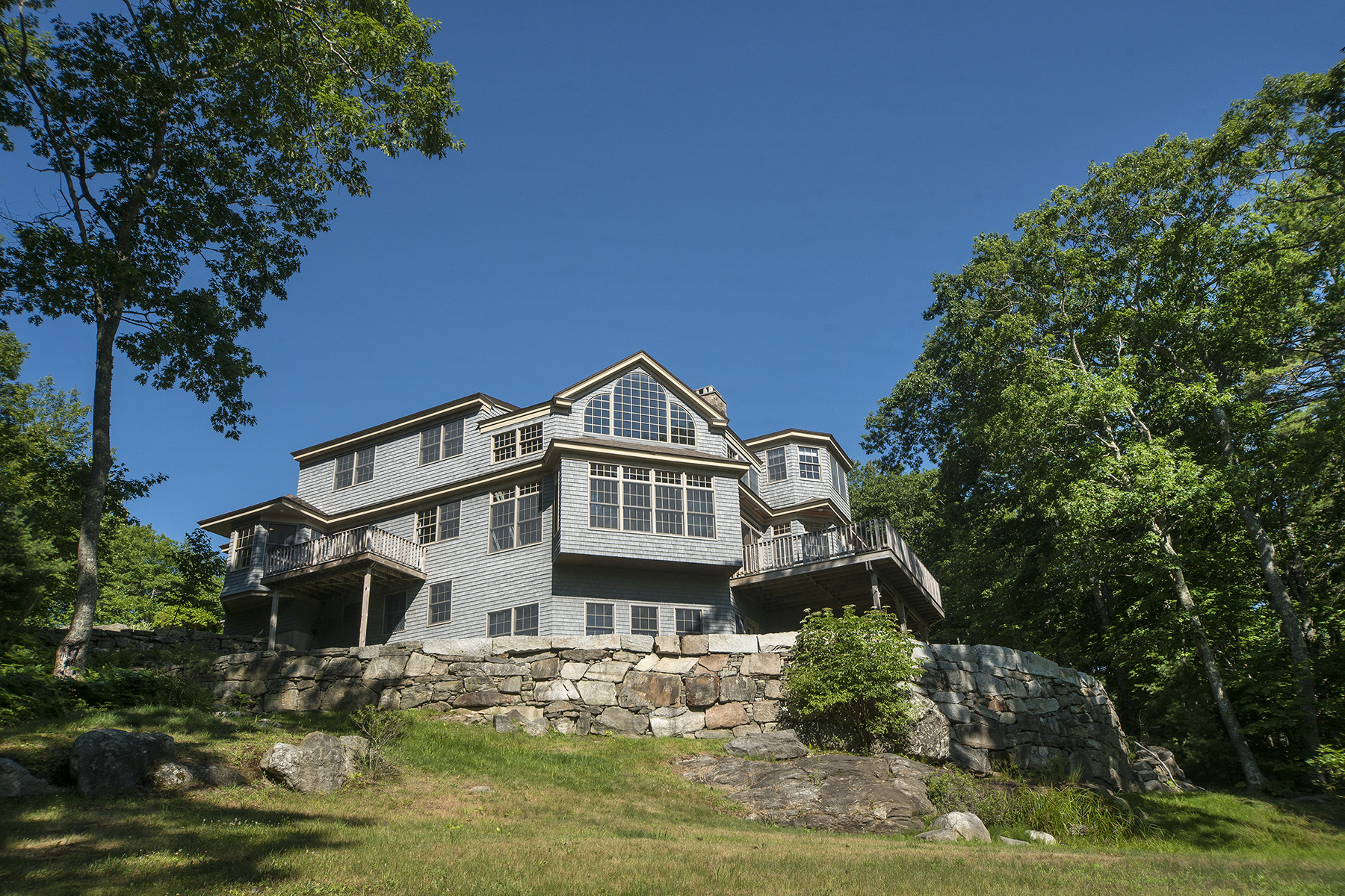 Single Family Home for Sale at Captain John Parker Road 56 Captain John Parker Road Phippsburg, Maine 04562 United States