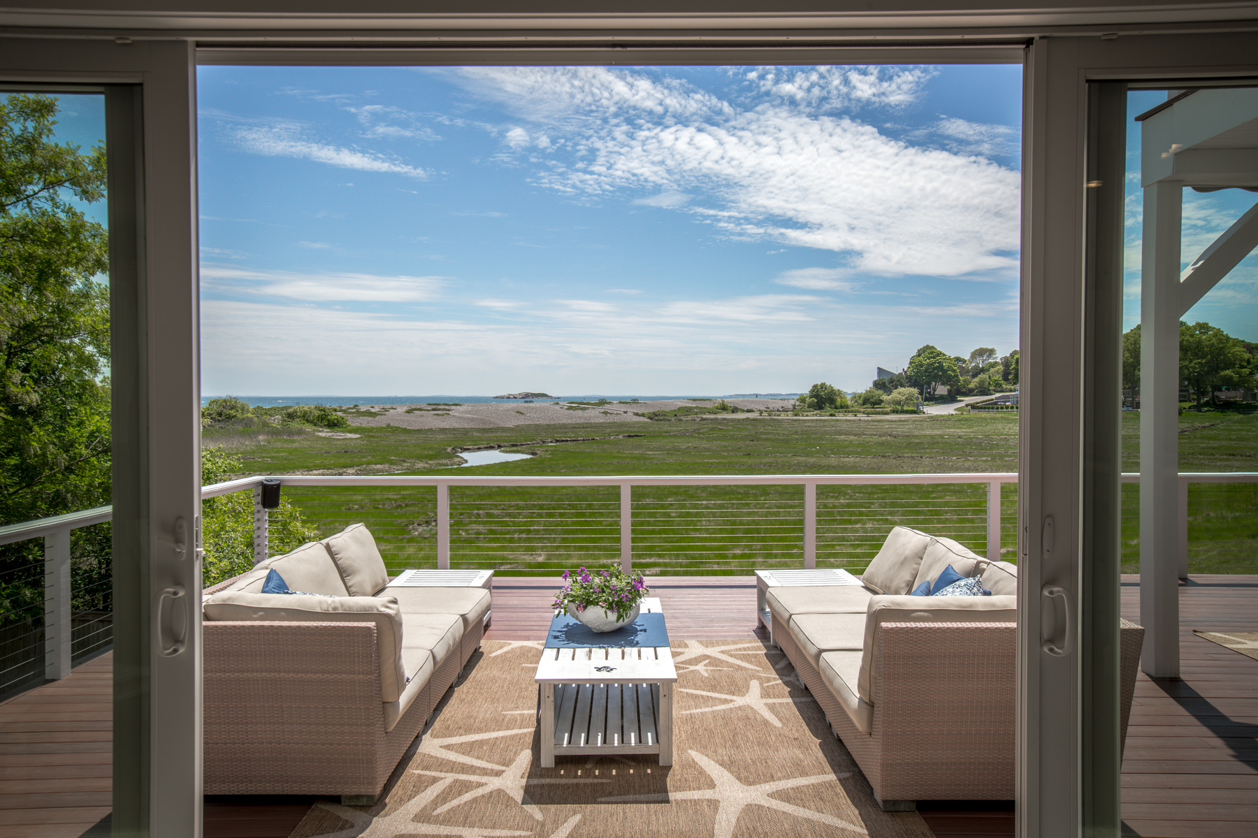 Single Family Home for Sale at Spectacular Seaside Contemporary 75 Beach Street Marblehead, Massachusetts 01945 United States