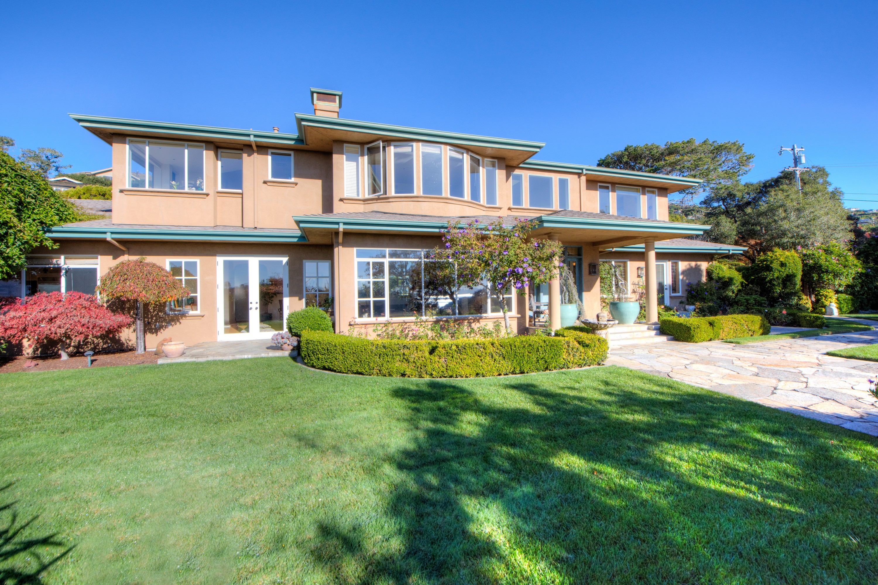 Single Family Home for Rent at Exclusive Tiburon Home with Views and Privacy 12 Spring Lane Tiburon, California 94920 United States