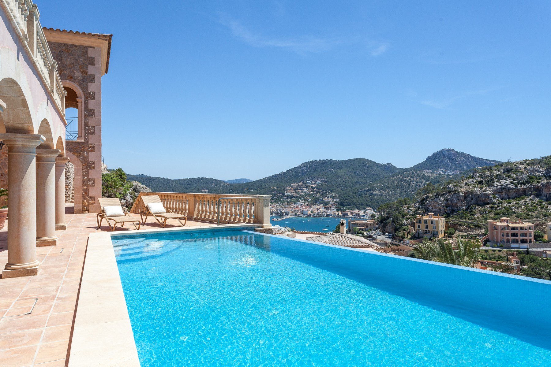 Single Family Home for Sale at bedroom Villa with sea views in Port Andratx Port Andratx, Mallorca 07157 Spain