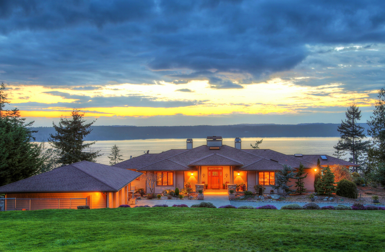 獨棟家庭住宅 為 出售 在 The Sanctuary 3952 Country Lane Camano Island, 華盛頓州 98282 美國